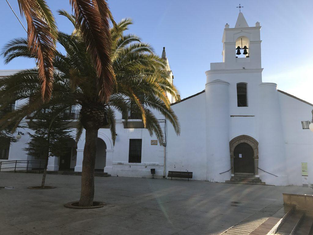 plaza de la merced en azuaga