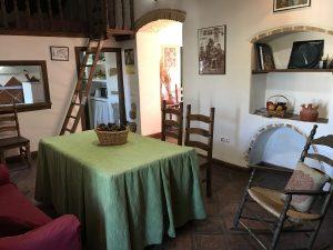 casa rural con chimenea viña del duco azuaga badajoz extremadura alojamiento sostenible