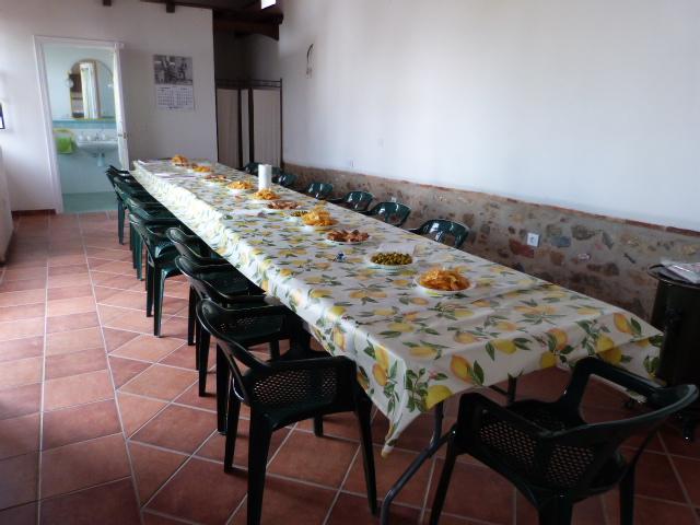 interior salón de celebraciones y fiestas