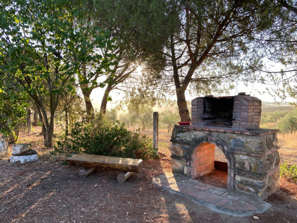 casa rural azuaga badajoz para grupos barbacoa